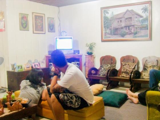 Mami Surf Haus' living room