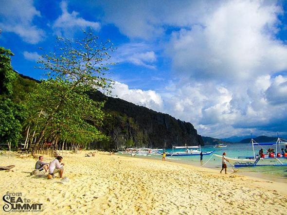 7 Commando Island in El Nido, Palawan