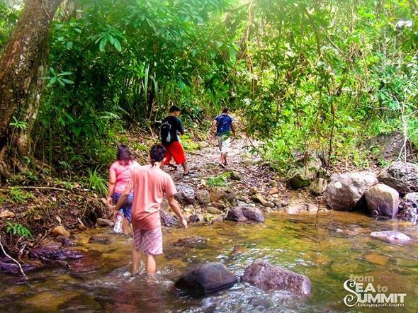 Going to Nagkalit-kalit waterfalls