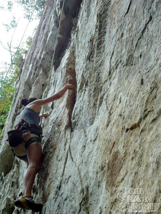 Rock Climbing at Cantabaco, Cebu