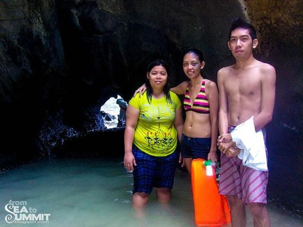 Secret lagoon of Island hopping tour A