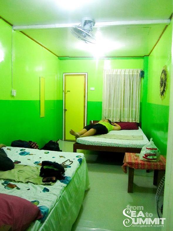 El Nido| Tay Miloy's inn : 4person bedroom