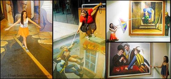 iCity Trick Art Museum, Malaysia