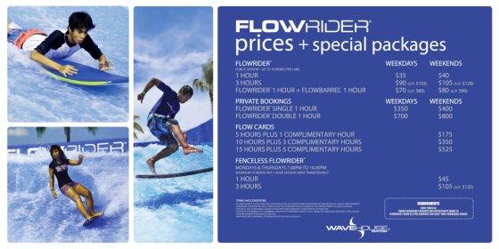 Wave Desk FlowRider Pricing - Sept 2013_1